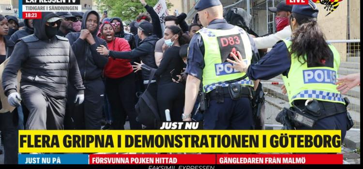 Pågående demonstrationer