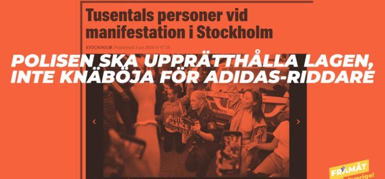 Svenska polisen brister i sin yrkesroll