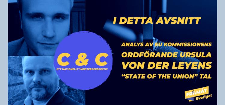 C & C podd – Analys av von der Leyens tal.