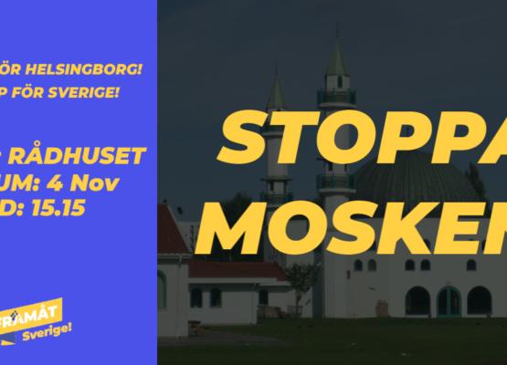 Manifestation stoppa mosken