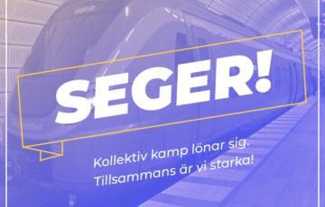 Stöd för Ola Brunnström och de vilda strejkerna.
