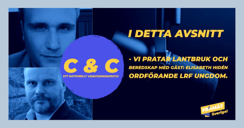 C & C podd - Gäst Elisabeth Hidén